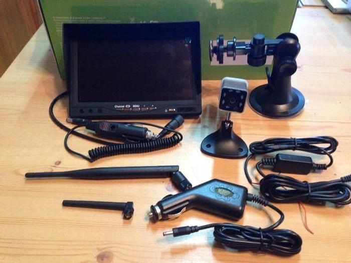 Anhänger-Kamera mit Monitor