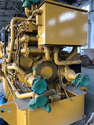 Caterpillar C 175 engine with Kato generators Very low working hours.