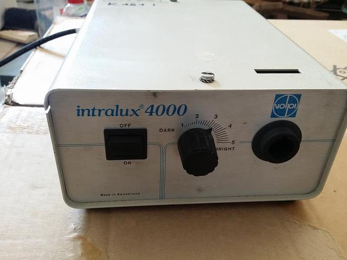 Gebraucht Kaltlichtquelle Intralux 4000 Volpi,