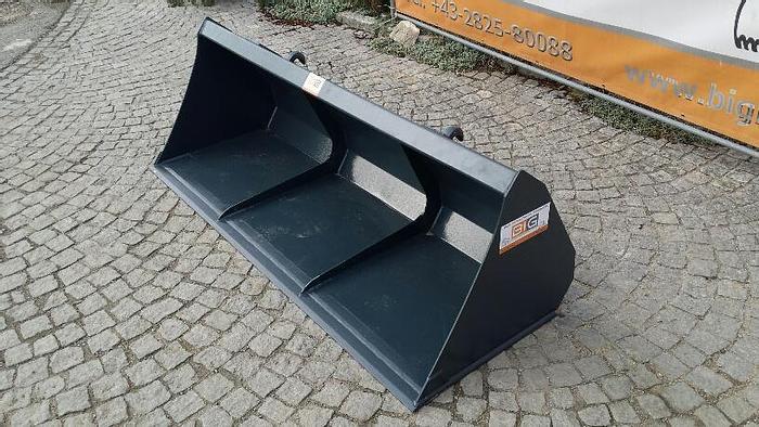 Leichtgutschaufel 200 cm mit Hardox passend zu Euro Aufnahme