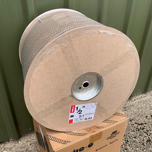 "James Burn No.8 1/2"" (12.7mm) 3:1 Silver Wire Binding Spool Reel"