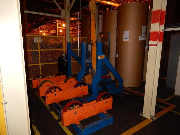 Used LM PAPER ROLL SAW