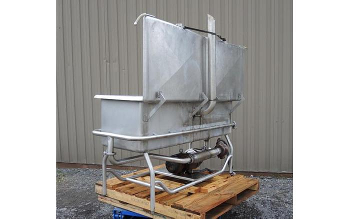 USED 90 GALLON CLEAN OUT OF PLACE ''COP'' SYSTEM, STAINLESS STEEL