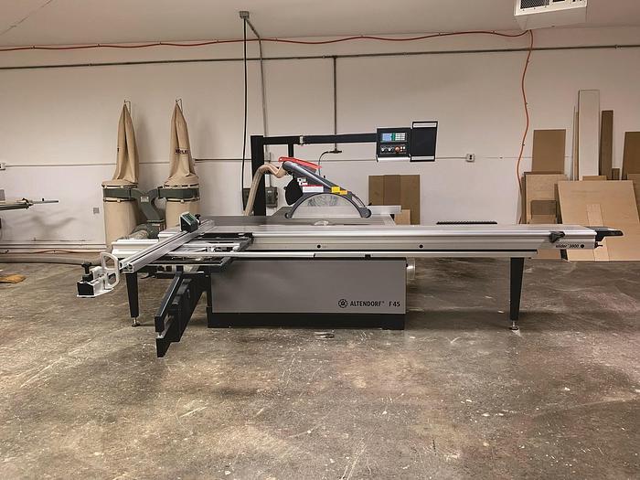Used Altendorf F45 Custom 3800 Sliding Table Saw