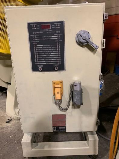 100 ton L&J Gap Frame Press