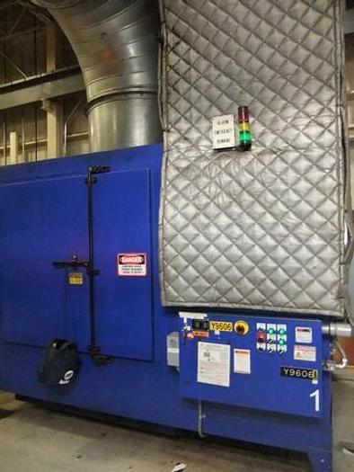 Used Robovent Dust Collection System