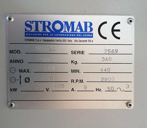 2008 Stromab Italy  TR 450