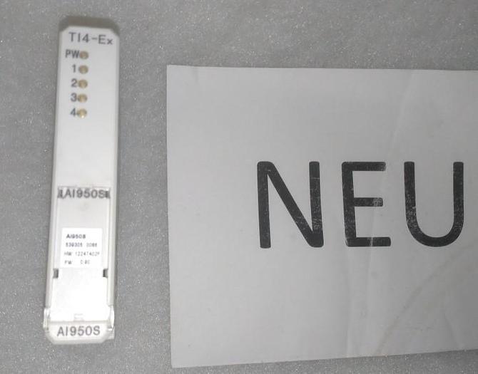 Temperature Input AI950S, TI4-Ex, ABB,  neu