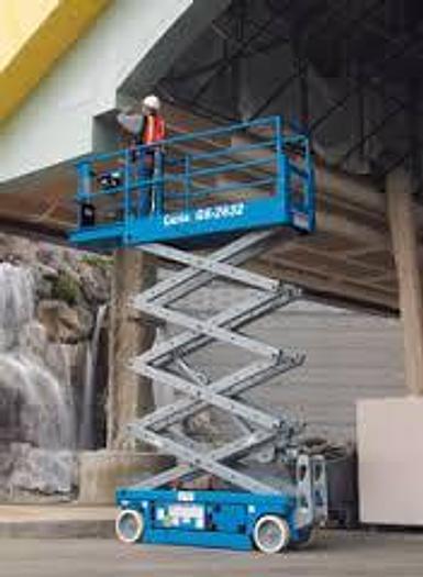 2020 Genie GS-2632 DC Scissor Lift, Swing Gate Entry ( Factory New )