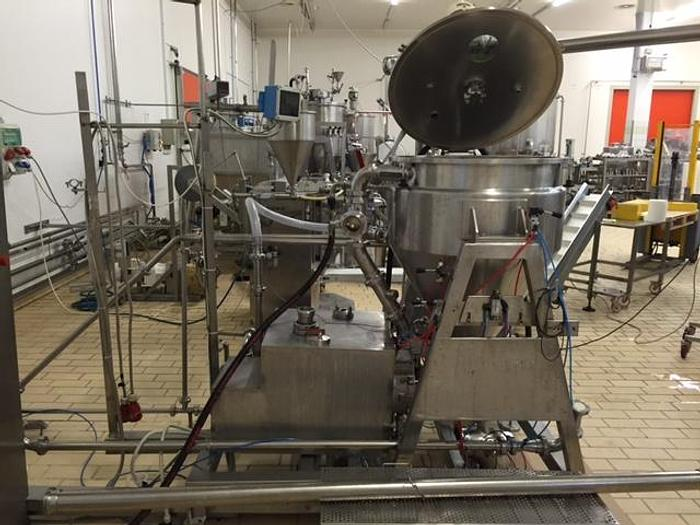 FRYMA JACKETED VACUUM MIXING / PROCESSING VESSEL