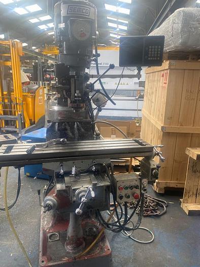 Used 2000 Semco LC1-1/2 VS Manual Turret Milling Machine