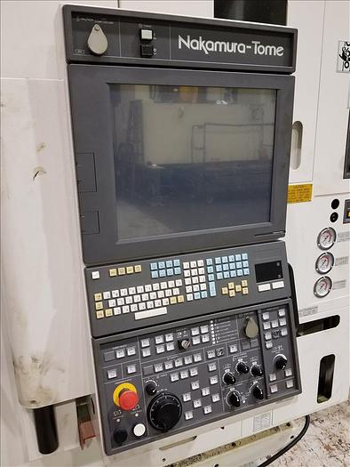 2017 Nakamura Tome SUPER NTMX CNC MULTITASKING MILLING AND TURNING CENTER