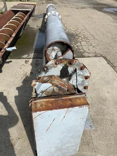 """Mild Steel Auger Screw 24' Long x 18"""" Diameter Conveyor"""