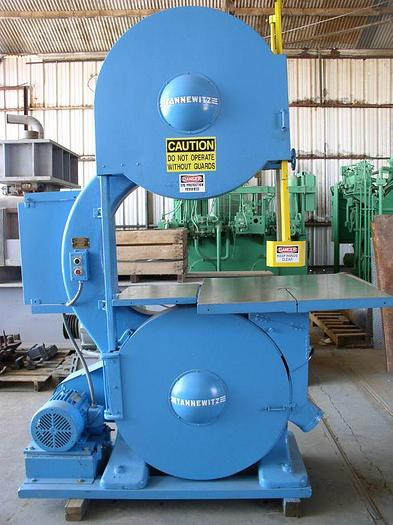 """Used 36"""" Tannewitz Model G1E Vertical Band Saw"""