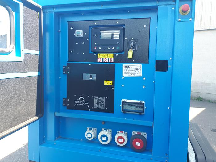 Genset MG 66S-I - Road Tow - Rental Spec