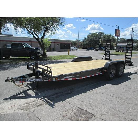 New Load Trail 7' X 20' Equipment Trailer 7 Ton
