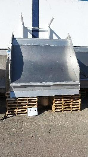 8' Wide Parabolic Wastewater Screen
