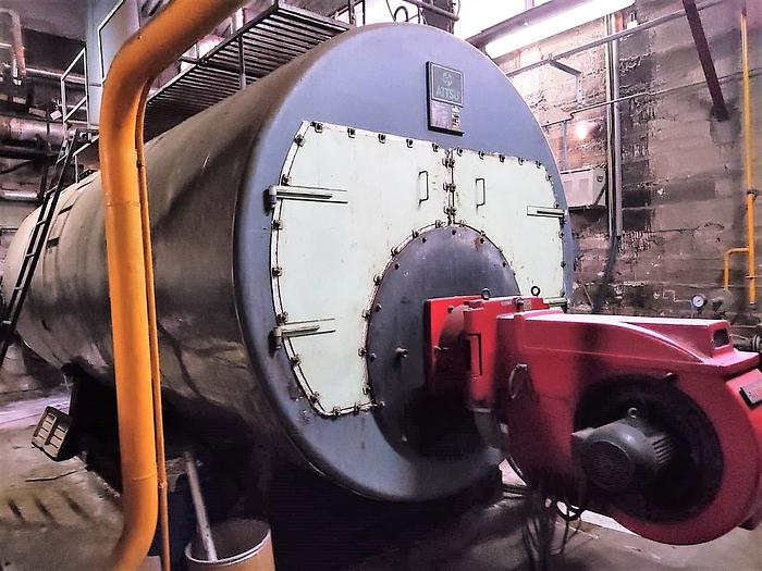 Used STEAM BOILER ATTSU 1995  7000 kgs/h