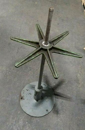 """Used 16"""" Stock Reel Payoff for wire or flat stock coils"""