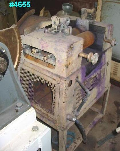 Used 4 in. X 8 in. ROSS LABORATORY THREE ROLL MILL
