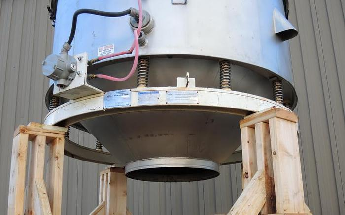 "USED SWECO SCREEN, 60"" DIAMETER, AVALANCHE FLU-THRU SIFTER"