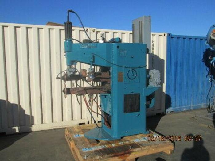 Used TAYLOR WINFIELD 200 KVA SEAM WELDER W/ LATE ENTRON EM 1000 CONTROLS