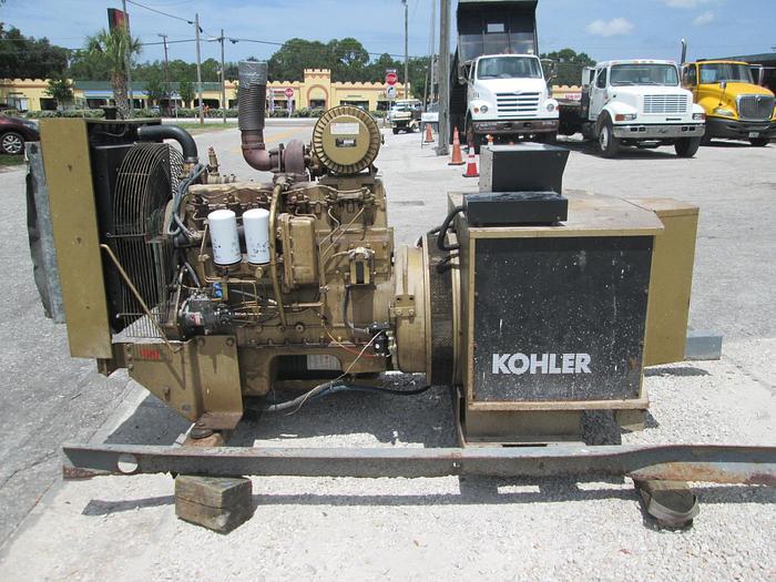 Used Kohler 125 KW Diesel Generator