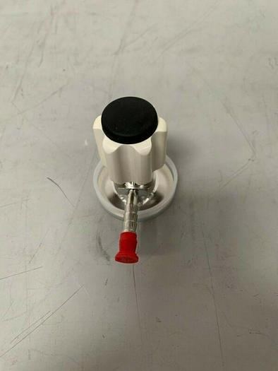 """Used ITT Pure-Flo Sample Valve w/ 2"""" Inlet & 1/4"""" Outlet"""