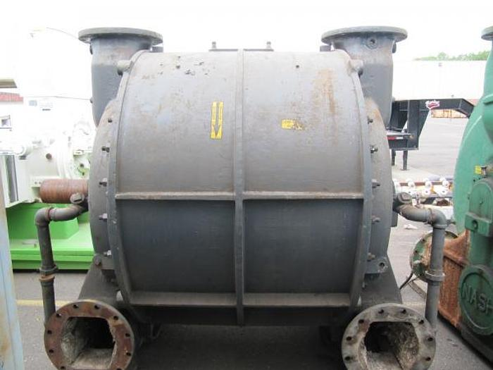 Used NASH CL9002 VACUUM PUMP REBUILT & S/S LINED 2006