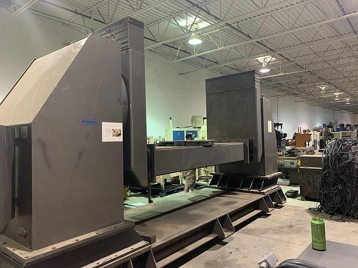 Used PEMA MODEL 5000 CR 11,240 LB CAPACITY 4TH & 5TH AXIS DROP CENTER WELDING POSITIONER OR FOR MACHINING APPLICATIONS