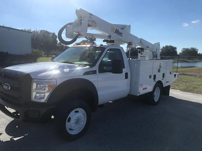 Used 2014 Ford F550 Altec AT37G 42ft Bucket Truck