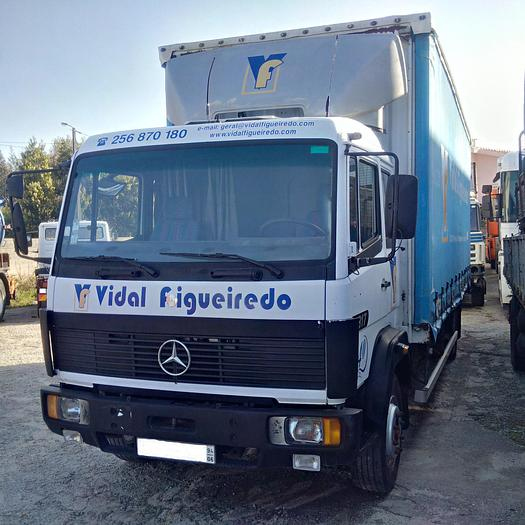 Used 1994 MERCEDES-BENZ 1217 curtainsider