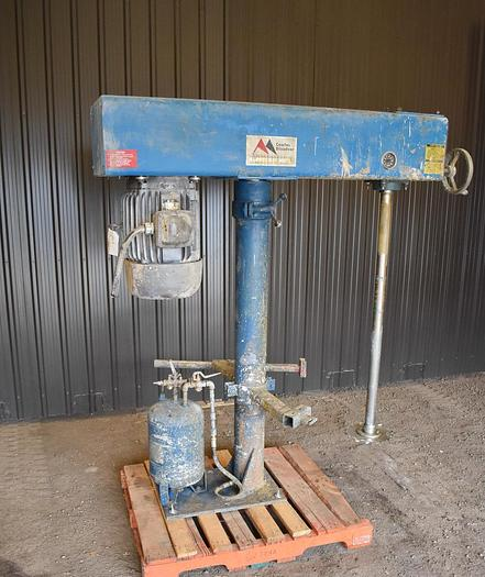 Used USED COWLES DISPERSER/DISSOLVER, STAINLESS STEEL, 30 HP