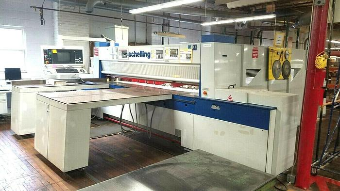 Used 2001 Schelling FMH 330/310 CNC Automatic Panel Beam Saw with lift table