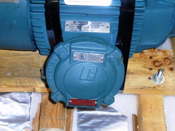 Reliance Electric Duty Master 15 HP. AC Motor (XE) Energy Efficient (XT) Extra Tough. U.L.