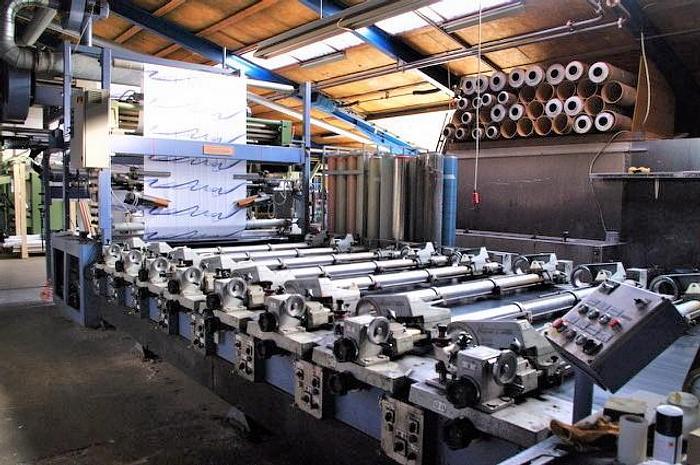 ZIMMER rotary printing machine