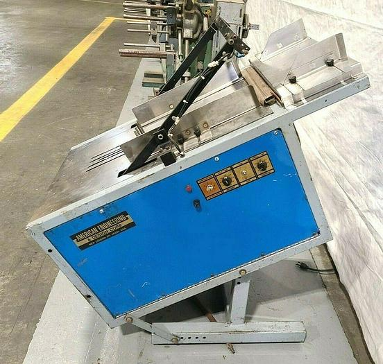 Used Automatic Packaging DROP SEALER Machine Bag Sealing Machine Made in USA