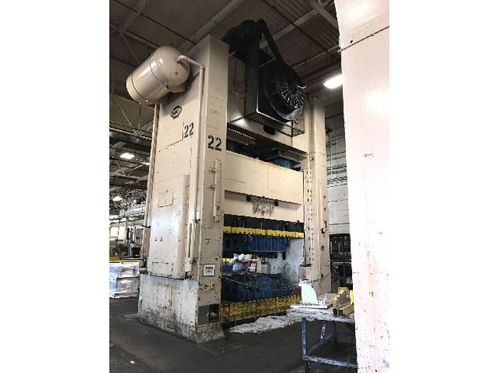 "800 ton Danly 132""x72"" Used Stamping Press"