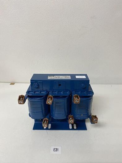 Used MTE Corporation RL-10002 3 Phase Reactor 0.30 mH 100 Amp 690v Warranty