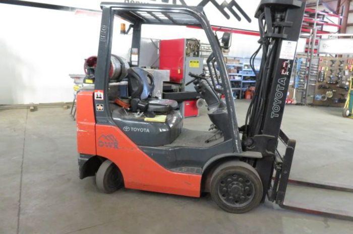 Toyota 8fgcu25 Forklift