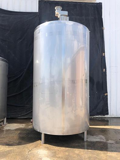 Used 2,000 GALLON WALKER DOME TOP DISH BOTTOM INSULATED MIX TANK (#9583)