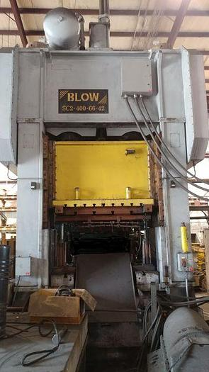 Used 400 TON BLOW SSDC PRESS