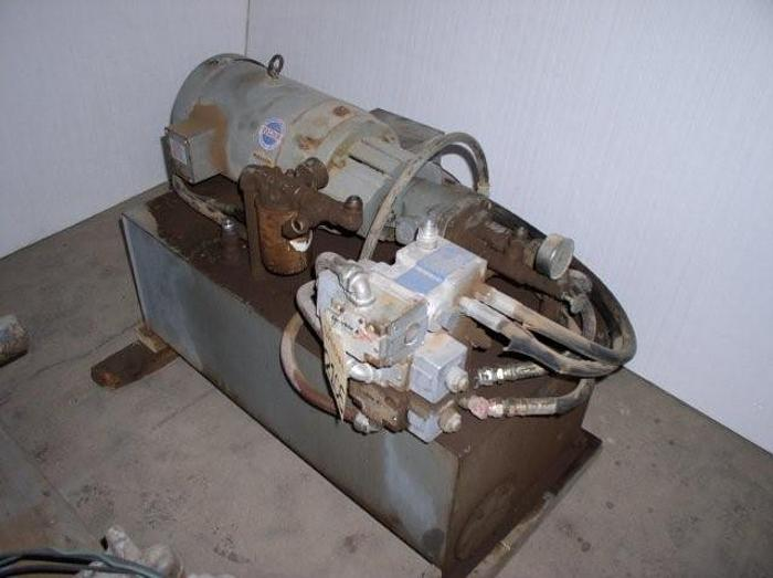 Used 10 HP Double A Hydraulic Power Unit; Tank Mtd; 3,000 psi; Simon Lift