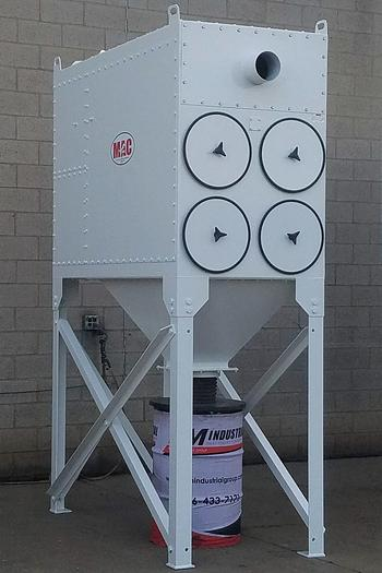 Refurbished MAC PROCESS 5,000 CFM CARTRIDGE-TYPE DUST COLLECTION SYSTEM - RECONDITIONED (#9898)