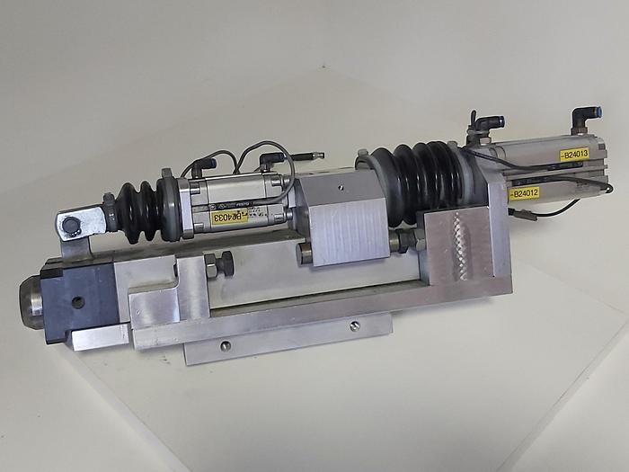 Gebraucht Zustellzylinder und Klemmung, Hub 60mm K2, Festo gebraucht-Top