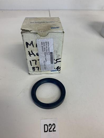 Simrit BAU3x2 42x55x8 mm radial shaft seal new old stock - set of 10 Fast Ship!