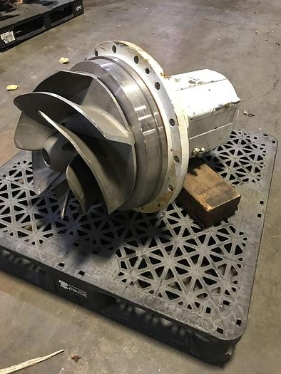 Used AHLSTROM / SULZER APT 43-12 CENTRIFUGAL PUMP S/S  DRIVE END SPARE