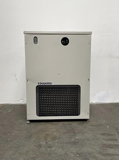 Used HASKRIS Chiller R250 Kw:7.5 Temperature Range 55-72 S/N HB22466