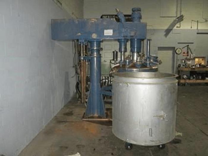 Used 250 GALLON MOLTENI DUAL SHAFT MIXER – C/S – VACUUM