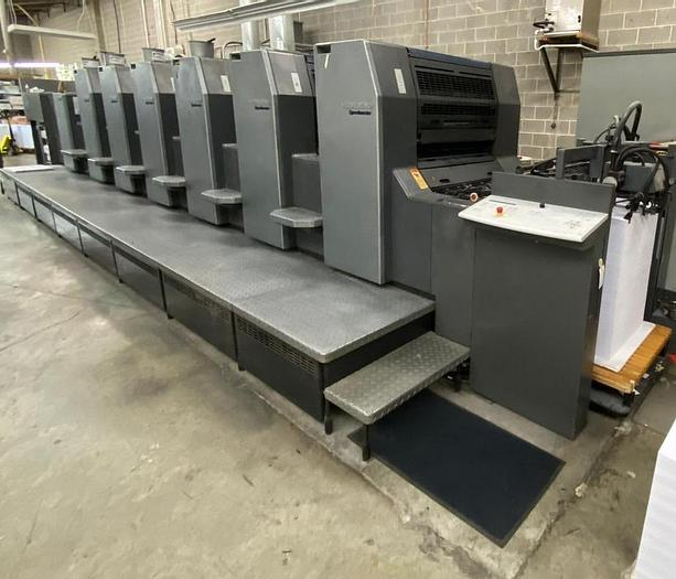 Used Heidelberg SM 74 6 Color with Auqueous Coater, 2004 Not Available Until March